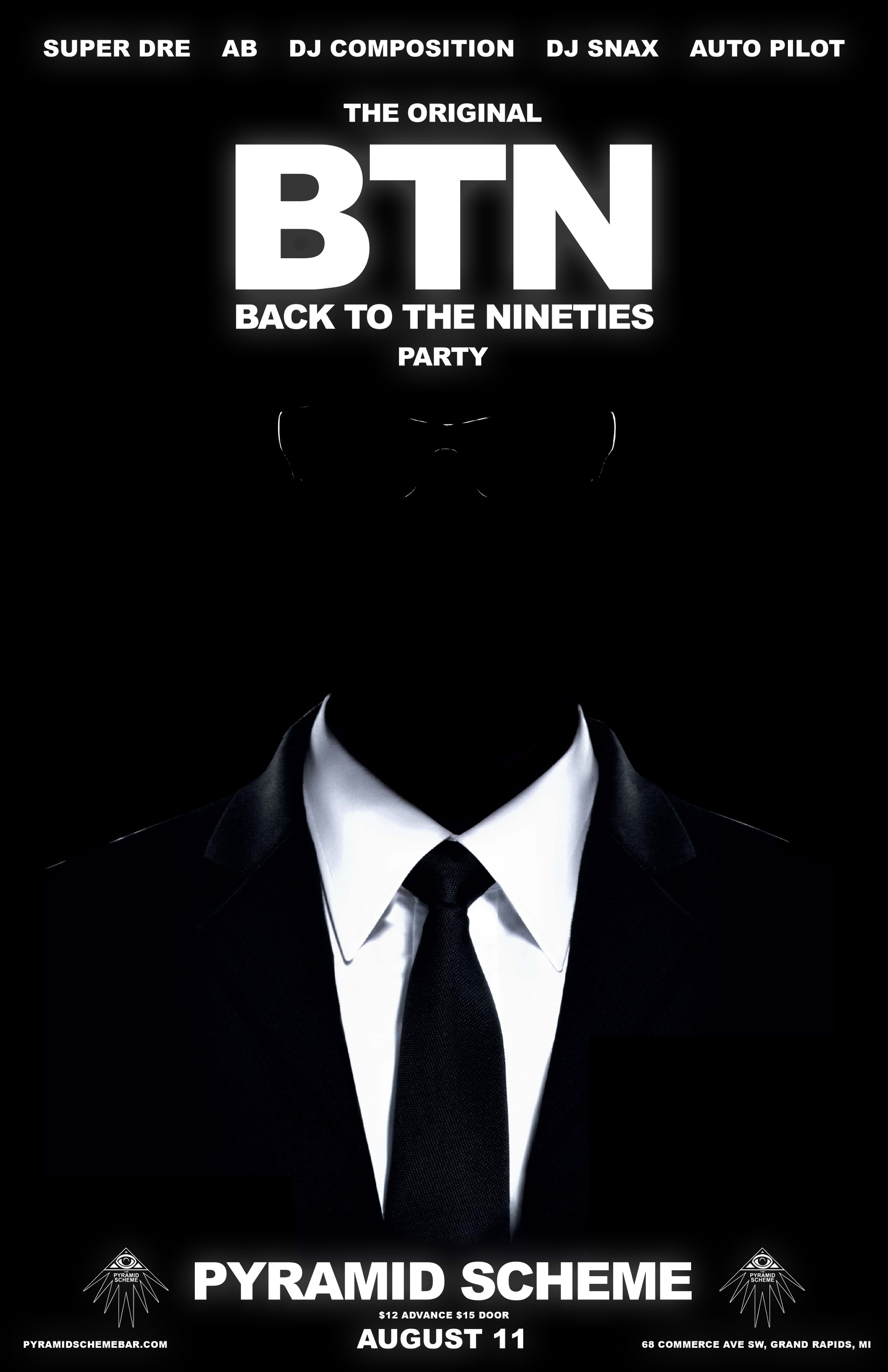 Ab Back To The 90s Mib Poster The Pyramid Scheme The